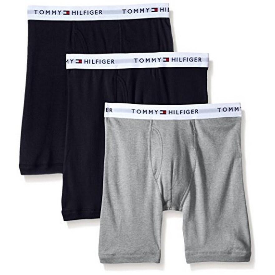 Tommy Boxer Briefs 3 Pack 100/% Cotton
