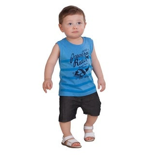 Pulla Bulla Baby Boy Sleeveless Shirt Striped Tank Top (3 options available)