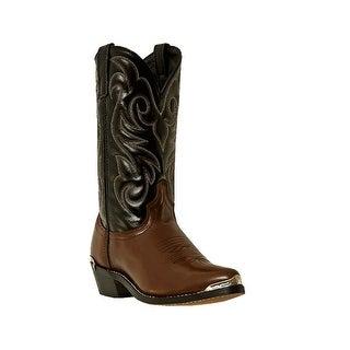 Laredo Western Boots Mens Nashville Cowboy Peanut Crunch Black 28-2464
