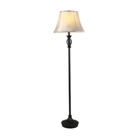 Cedar Hill 59-in Dark Bronze Floor lamp