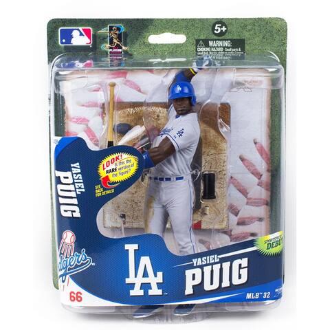 LA Dodgers McFarlane MLB S32 Figure: Yasiel Puig (Gray Uniform Silver Variant) - multi