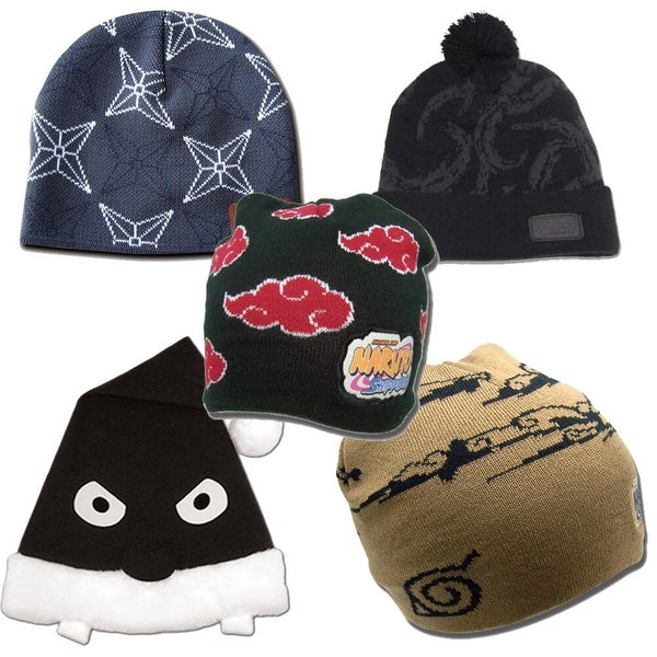 NARUTO NINJA OFFICIALLY LICENSED BEANIE