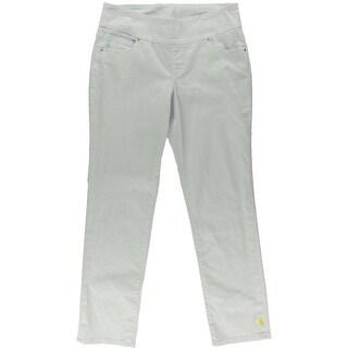 Jag Jeans Womens Gina High Waist Stretch Slim Jeans - 12