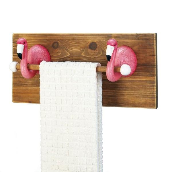Flamingo Towel Holder