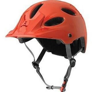 Triple 8 Unisex Compass Bike Helmet, Orange Glossy, S/M