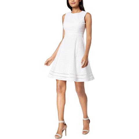 b134e67483ef White Calvin Klein Dresses   Find Great Women's Clothing Deals ...