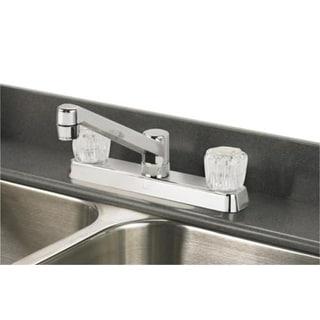 Homeplus+ 8237CP Non-Metallic Kitchen Faucet, Chrome