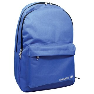 Backpack Blue W/ 2 Large Zipper