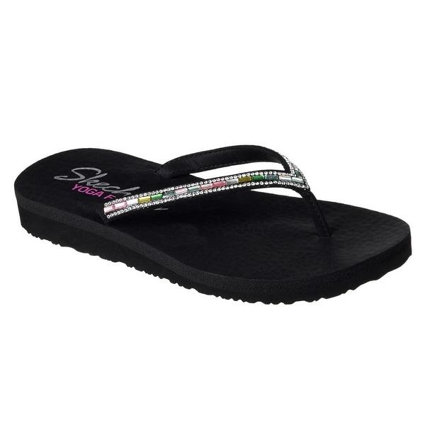 Skechers 38627 BKMT Women's MEDITATION-DESERT PRINCESS Sandals