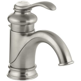 Kohler K-12182 Fairfax Single Hole Bathroom Faucet - Free Metal Pop-Up Drain Assembly with purchase