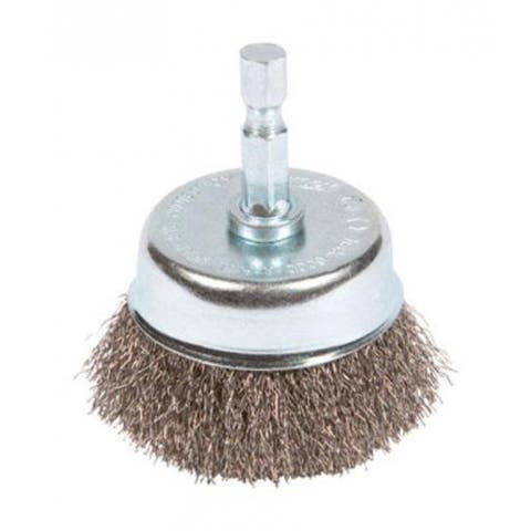 """Forney 72730 Mounted Fine Wire Crimp Cup Brush, 2 """""""