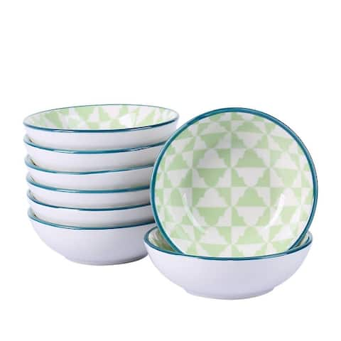 vancasso Takaki 8-Piece Oriental Dipping Bowls Set