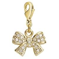 Julieta Jewelry Bow CZ Clip-On Charm
