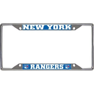"NHL - New York Rangers License Plate Frame - 6"" x 12"""