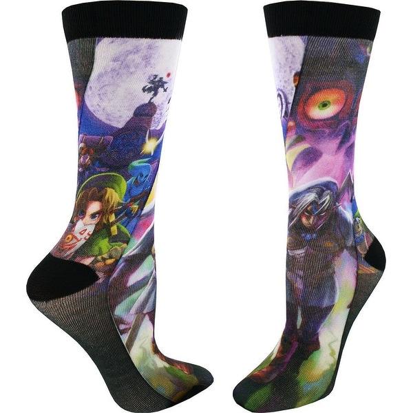 Legend of Zelda: Majora's Mask Men's Sublimated Crew Socks