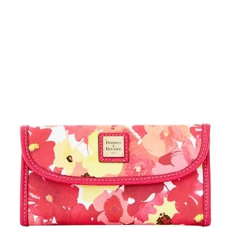 Dooney & Bourke Somerset Watercolor Continental Clutch (Introduced by Dooney & Bourke at $128 in Jan 2016)
