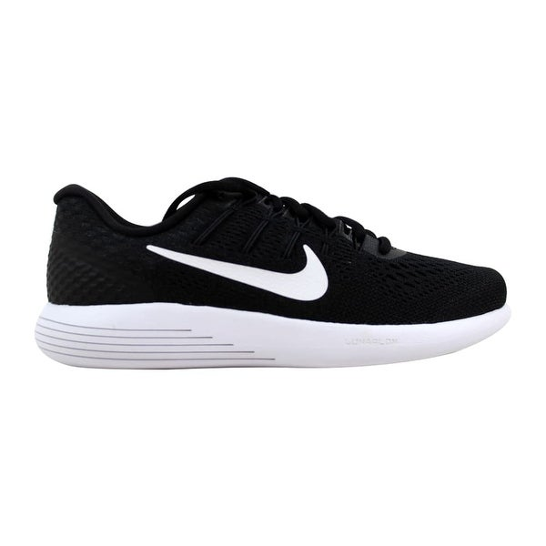 61aa966b17c4 ... Women s Athletic Shoes. Nike Lunarglide 8 Black White-Anthracite  AA8677-001 ...