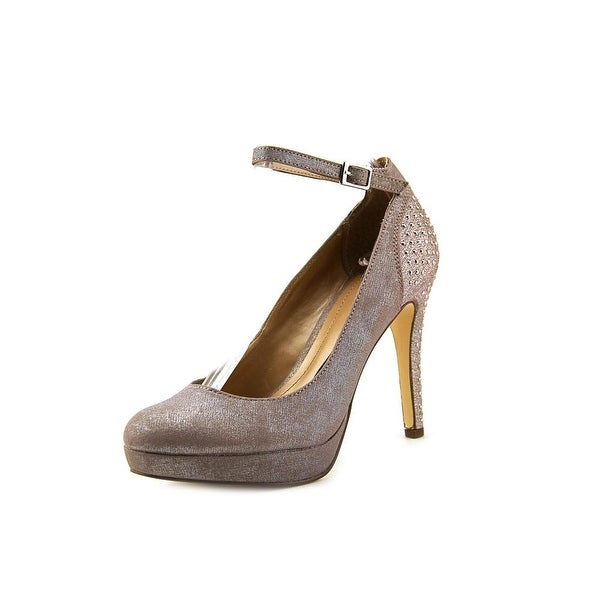 Style & Co Lylla Women  Open Toe Synthetic Gray Platform Heel