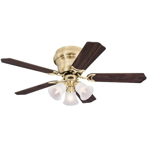 Westinghouse Contempra Trio 42-In Ceiling Fan with Dimmable LED Light