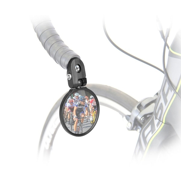 Venzo Bicycle Bike Handlebar Stainless Steel Mirrors Left and Right