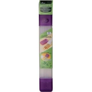 """Knitting Needle Tube Case-16""""X2.25""""X1.5"""" Purple"""