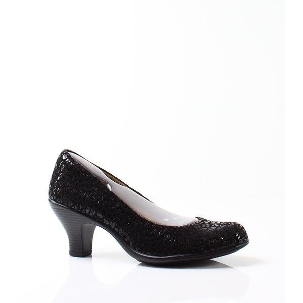 Softspots NEW Black Women's Shoes Size 7N Salude Suede Pumps