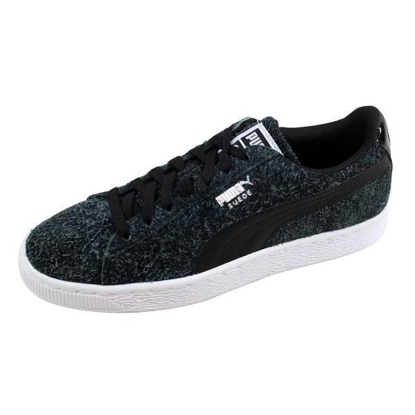 0e14ebeb9db ... Women s Athletic Shoes. Puma Women  x27 s Suede Elemental Puma Black  Puma White 361112 03 Size