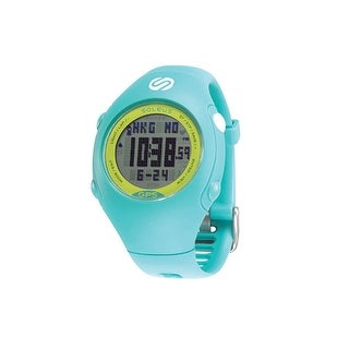 "Refurbished ""Soleus Mini Teal/Lime USB Sports Watch"""