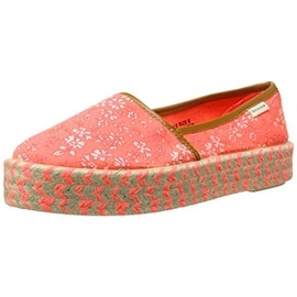 Groove Womens Nicole Canvas Printed Espadrilles