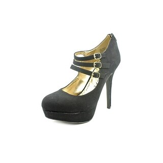 Material Girl Kristen Open Toe Synthetic Platform Heel