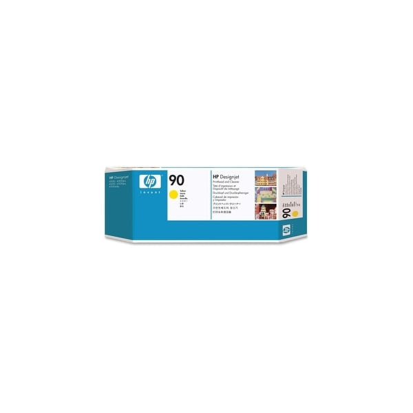 HP 90 Yellow DesignJet Printhead and Printhead Cleaner (C5057A) (Single Pack)