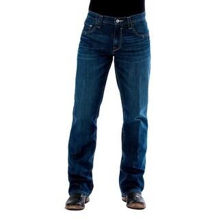 Cinch Western Denim Jeans Mens Bootcut Carter 2 Dark Wash