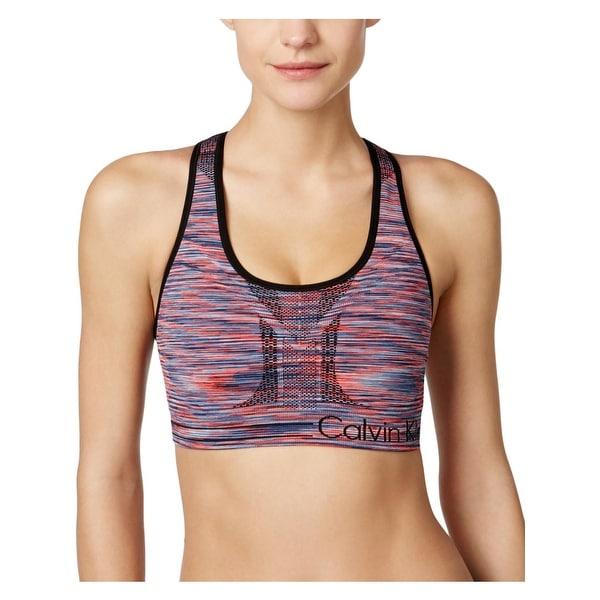 1245030451f04 Shop Calvin Klein Performance Womens Sports Bra Reversible Impact ...