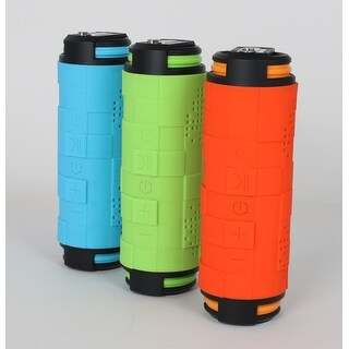 TechComm BT610 Water-resistant Bluetooth Speaker with Shockproof, Dustproof and Anti-Scratch Design, and Power Bank