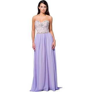 Terani Couture Embellished Prom Formal Dress
