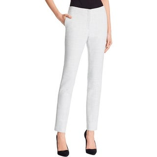 Theory Womens Ankle Pants Straight Leg Knit