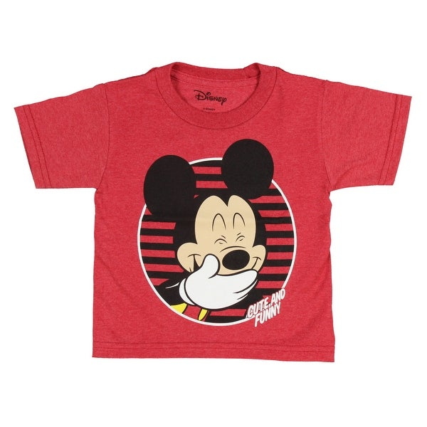3e306b88 Shop Disney Mickey Mouse Shirt Toddler Boys Cute And Funny Ears Costume Tee  - Free Shipping On Orders Over $45 - Overstock.com - 25429779