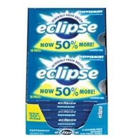 Eclipse Sugar Free Gum Peppermint 8 packs (18 ct per pack)