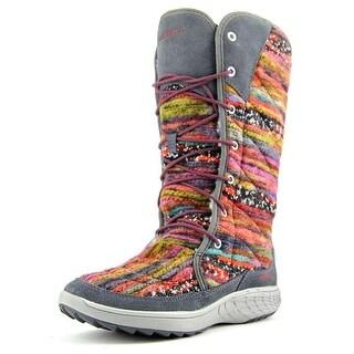 Merrell Pechora Sky Women Round Toe Canvas Multi Color Winter Boot