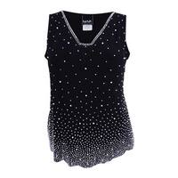 MSK Women's Plus Size Embellished Blouse