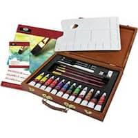 Watercolor Painting 25Pc - Wooden Box Art Set