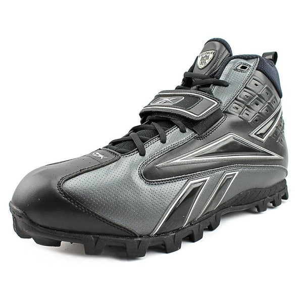 Reebok Pro Thorpe II High AT Men Black/Black Cleats