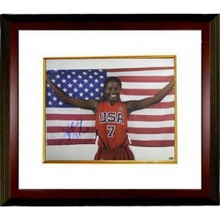 CTBL-MW13972 Sheryl Swoopes Signed Photo Custom Framed Team USA