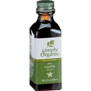 Simply Organic - Vanilla Extract ( 6 - 2 FZ)