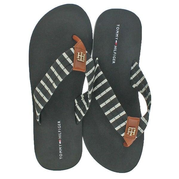 7846dcd2d4dbd8 Shop Tommy Hilfiger Assorted Women s EVA Flip Flop Sandals - Free ...