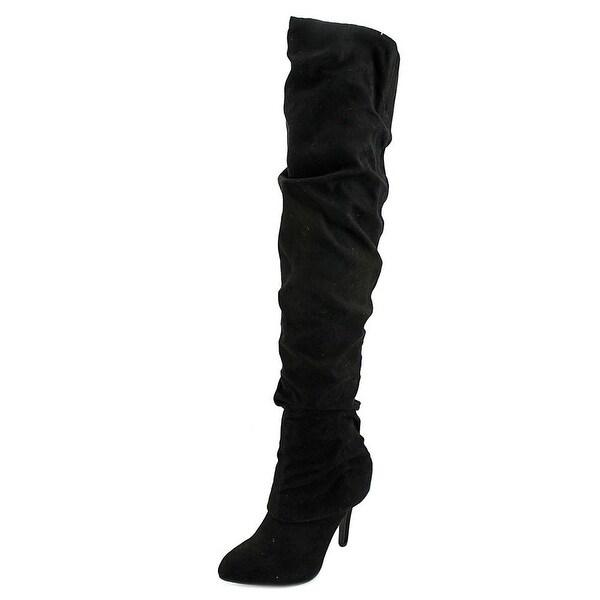 Nina Womens KANDI Pointed Toe Over Knee Fashion Boots - 6.5