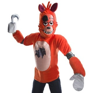 Five Nights At Freddy's Foxy Costume Top Child (2 options available)