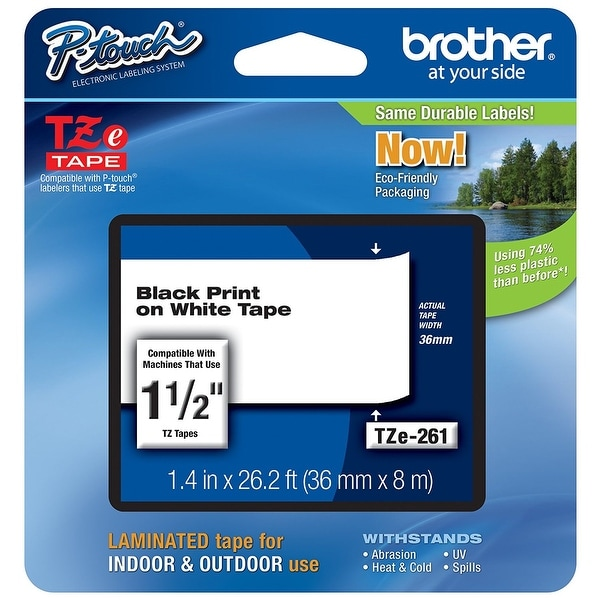 Brother Intl (Labels) - Tze261