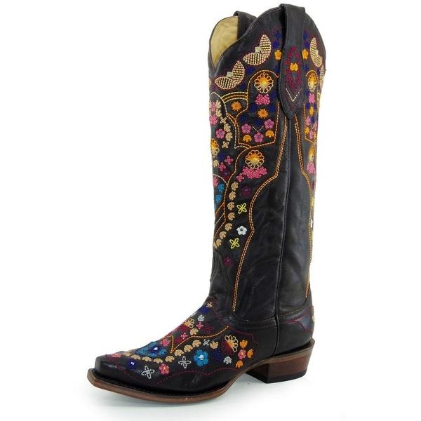 a59d7f67ffb Stetson Western Boots Womens Summer Zip Brown
