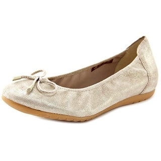 Sabrinas London V16 Women Round Toe Leather Nude Flats